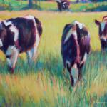 Grazing in the Grass 8 x 10 Acrylic